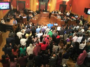 111 become US citizens In First-Ever Naturalization Ceremony in